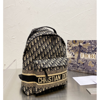 ディオール(Dior)の可愛い【DIOR】DIOR TRAVELバックパック バッグ リュック(リュック/バックパック)