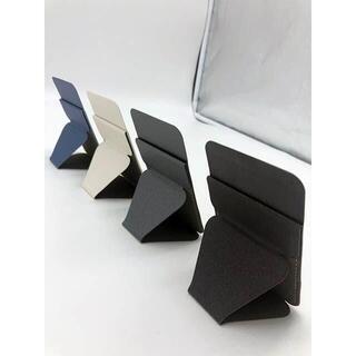 ○スマホ スタンド スリム カード収納付 ミニマリスト(その他)