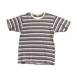 """サンローラン(Saint Laurent)の""""YSL"""" Border Tee(Tシャツ/カットソー(半袖/袖なし))"""
