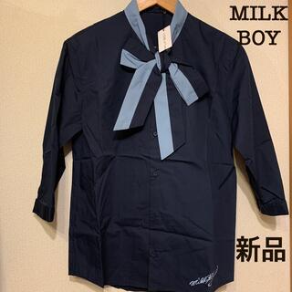 ミルクボーイ(MILKBOY)の【新品】MILK BOY 7分袖シャツ(シャツ)
