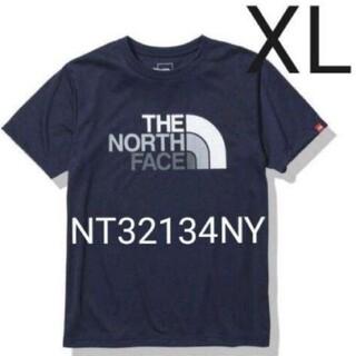 THE NORTH FACE - 新品未開封 ノースフェイス カラフルロゴ Tシャツ ネイビー XLサイズ