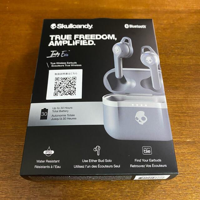 Skullcandy(スカルキャンディ)のSkullCandy IndyEvo スマホ/家電/カメラのオーディオ機器(ヘッドフォン/イヤフォン)の商品写真