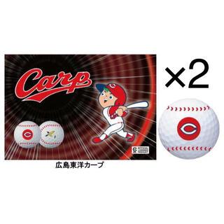 ダンロップ(DUNLOP)のゼクシオX エックス セ・リーグコラボゴルフボール 広島カープ 2ケース(その他)