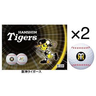 ダンロップ(DUNLOP)のゼクシオX エックス セ・リーグコラボゴルフボール 阪神タイガース 2ケース(その他)
