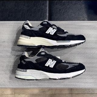 New Balance - 【新品】ニューバランス 993 ブラック 黒 28cm 4E アメリカ製