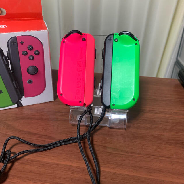 Nintendo Switch(ニンテンドースイッチ)のNintendo Switch ジョイコン  (スティック新品交換済) エンタメ/ホビーのゲームソフト/ゲーム機本体(携帯用ゲーム機本体)の商品写真