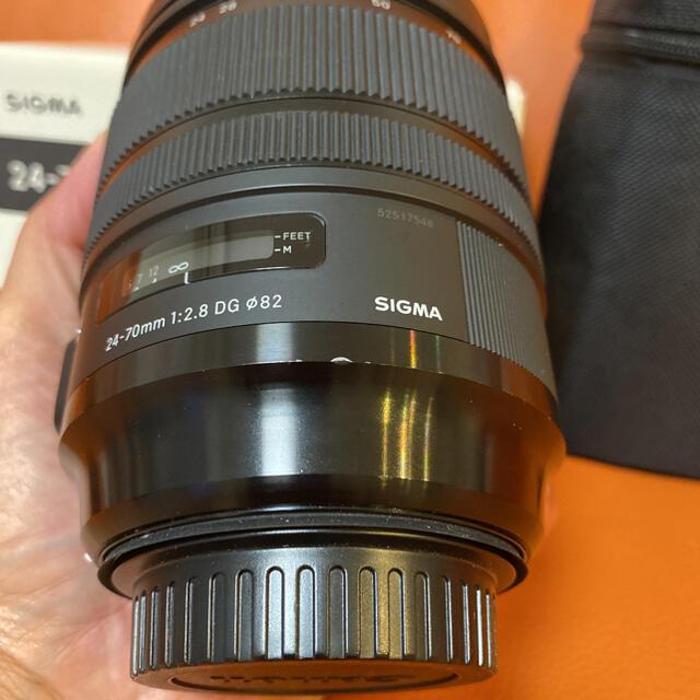 SIGMA(シグマ)のSIGMA 24-70mm F2.8 DG OS HSM Art / キャノン スマホ/家電/カメラのカメラ(レンズ(ズーム))の商品写真