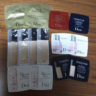 Dior - Dior  リキッドファンデーション  乳液 化粧下地 美容液 メイク落とし