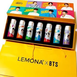 防弾少年団(BTS) - LEMONA  ×  BTS    防弾少年団 紙袋 箱 瓶7本 セット