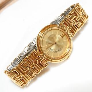 "LEONARD - LEONARD❇️ヴィンテージ アナログ腕時計 ""稼働品"""