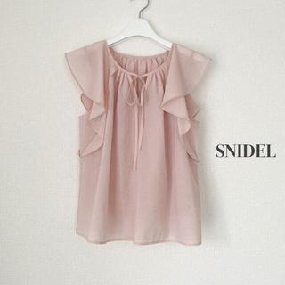 snidel - SNIDEL スナイデル ノースリーブブラウス