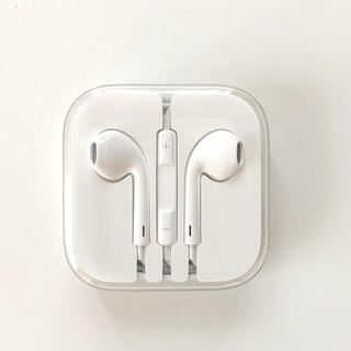 Apple - 【Apple】iPhone イヤホン純正 イヤホンジャック差し込み型