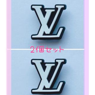 ジビッツ クロックスアクセサリー オシャレ ロゴ(キャラクターグッズ)