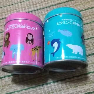 カワイ 肝油ドロップ 大容量2缶セット