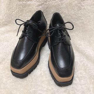 ヌォーボ(Nuovo)の【NUOVO】ウッドヒールオックスフォード(ローファー/革靴)