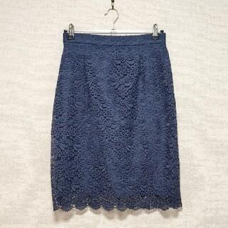 UNIQLO - UNIQLO レースタイトスカート