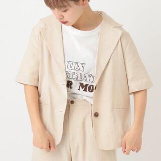 半袖テーラードジャケット(テーラードジャケット)