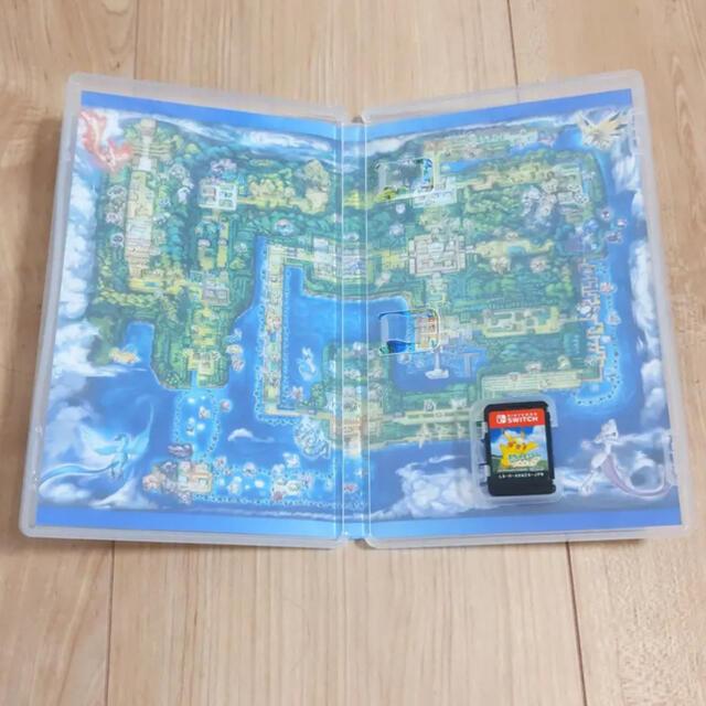 Nintendo Switch(ニンテンドースイッチ)のポケットモンスター Let's Go! ピカチュウ エンタメ/ホビーのゲームソフト/ゲーム機本体(家庭用ゲームソフト)の商品写真