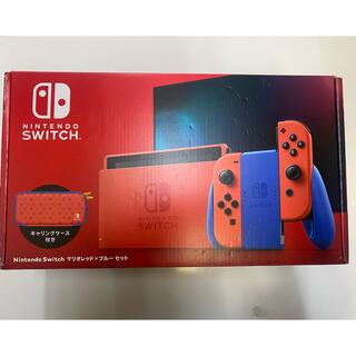 Nintendo Switch - ニンテンドースイッチ本体 マリオレッド✖️ブルーセット