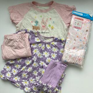 ニシマツヤ(西松屋)の新品未使用あり 夏用 パジャマ 3枚組 お買い得 お得 まとめ売り(パジャマ)