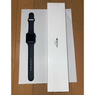 Apple Watch - アップルウォッチ シリーズ3 42mm スペースグレイ GPSモデル