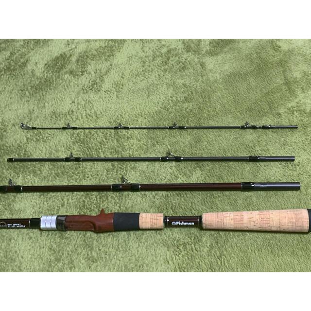 【超美品】Fishman BC4 5.10 MXH BRIST COMPACT スポーツ/アウトドアのフィッシング(ロッド)の商品写真