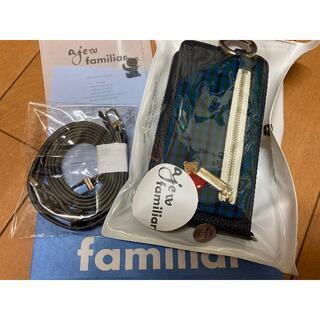 ファミリア(familiar)のajew×ファミリア マルチ 携帯ケース(モバイルケース/カバー)