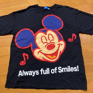 Disney - ディズニーTシャツ スマイルミッキー 3L
