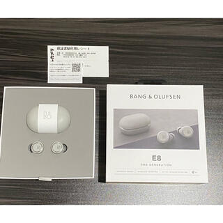 Apple - ◆極美品 B &O  Beoplay E8 3rd Gen Gray Mist