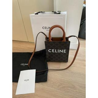 celine - CELINE ミニ バーティカルガバ トリオンフ キャンバス