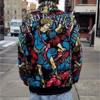 Supreme - supreme 21SS Saint Michael フリースジャケット