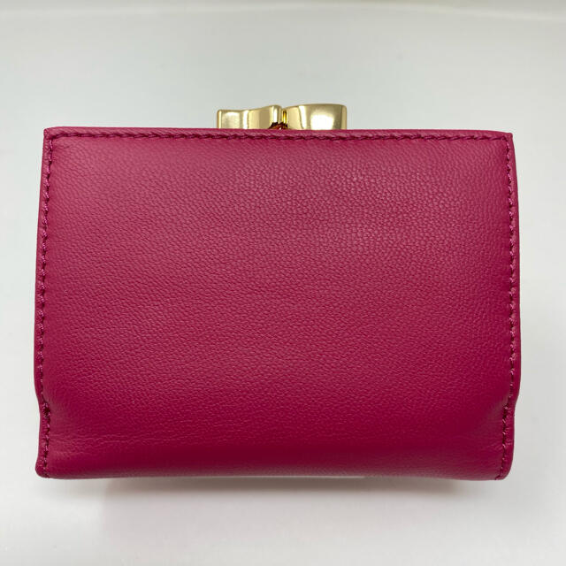 Vivienne Westwood(ヴィヴィアンウエストウッド)の未使用☺︎Vivienne Westwood 三つ折り財布 がま口 ピンク レディースのファッション小物(財布)の商品写真
