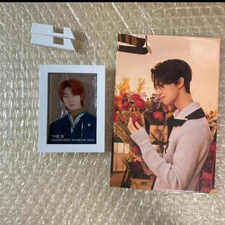 セブンティーン(SEVENTEEN)のSEVENTEEN ミンハオ フレームスタンド  ポストカード(K-POP/アジア)