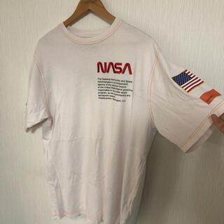 OFF-WHITE - ヘロンプレストン NASA Tシャツ 白 S