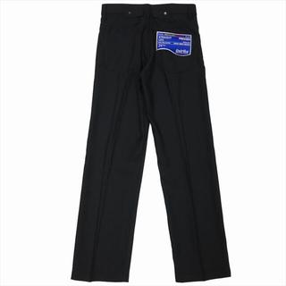 "DAIRIKU""Straight"" Flasher Pressed Pants"