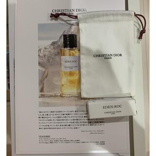 Christian Dior - 新品未使用Diorメゾンエデンロックオードゥパルファンと巾着