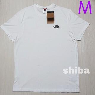 THE NORTH FACE - ノースフェイス tシャツ 白 simple dome t-shirt 海外M