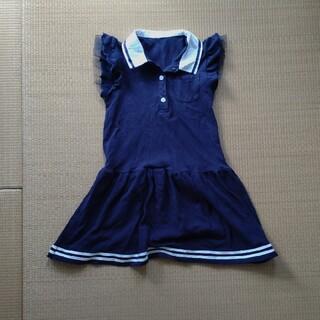 ニシマツヤ(西松屋)の子供服ワンピース 130cm 美品(ワンピース)