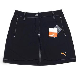 PUMA - PUMA プーマ レディース ゴルフスカート ゴルフウェア ブラック Mサイズ