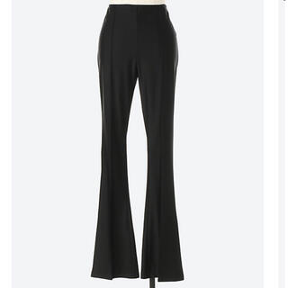 body fit flare pants