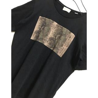 ディーゼル(DIESEL)のDIESEL  ディーゼル  ボックスロゴTシャツ(Tシャツ/カットソー(半袖/袖なし))