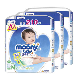 ムーニー パンツM 210枚(その他)