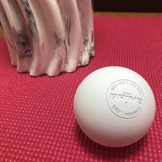【新品】ラクロスボール 白 ボディマッサージツール
