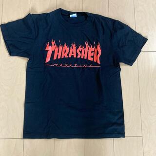 THRASHER - THRASHER Tシャツ スラッシャー 炎