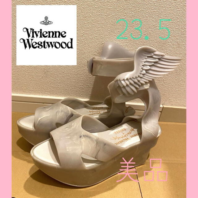 Vivienne Westwood(ヴィヴィアンウエストウッド)のヴィヴィアンウエストウッド×メリッサ ロッキンホース ウイング サンダル レディースの靴/シューズ(サンダル)の商品写真
