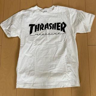 THRASHER - THRASHER Tシャツ スラッシャー 白Tシャツ