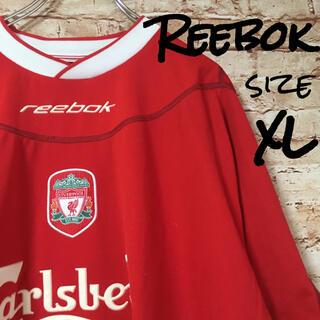 リーボック(Reebok)のリーボック リバプール メンズ スポーツウェア トレーニングウェア 半袖 ロゴ(ウェア)