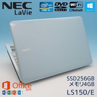 NEC - Office2019/NECノートパソコン/サクサクi5搭載/Windows10