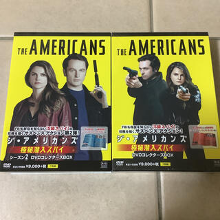 ジ・アメリカンズ 極秘潜入スパイ DVDコレクターズBOX 2点セット(外国映画)