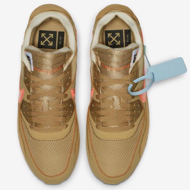 NIKE(ナイキ)のNIKE ナイキ off-white airmax 90 THE 10 29cm メンズの靴/シューズ(スニーカー)の商品写真